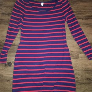 Red and Blue Old Navy Dress